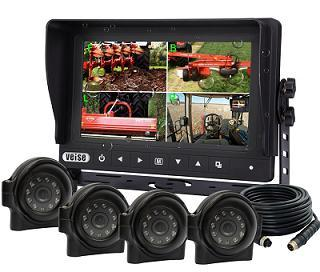 Ip 69k Watreproof Quad Monitor Camera System