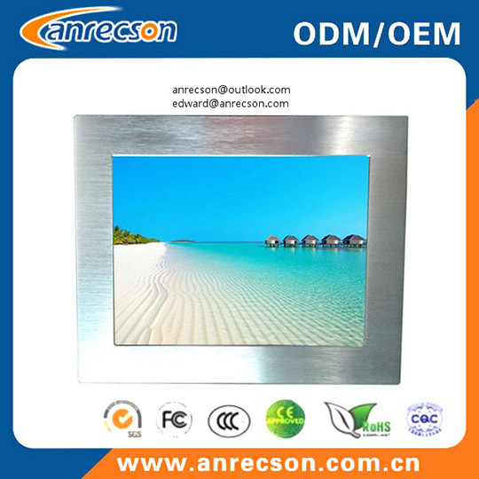 Ip65 Waterproof 19 Inch Industrial Panel Pc All In One