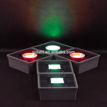 Ip68 Aluminum Solar Led Underground Light Color Optional