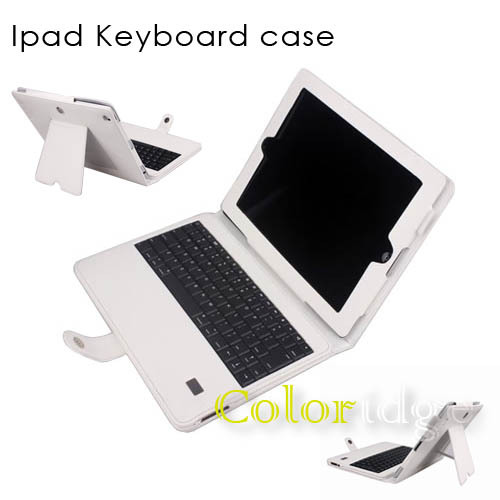 Ipad Bluetooth Keyboard Case White