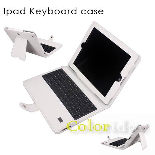 Ipad Bluetooth Keyboard Case White
