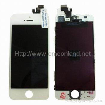 Iphone 5 Lcd Display Screen With Touch Panel Digitizer Assembly For Black W