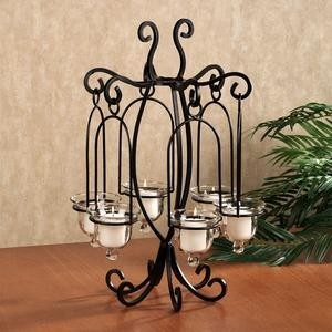 Iron Candlestick Metal Candle Holder