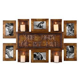 Iron Picture Frame Metal Photo Wall