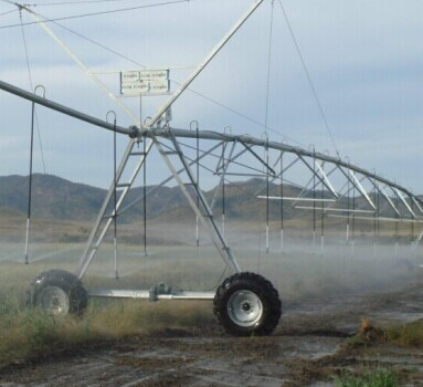Irrigation Pipe System For Center Pivot Barrel Farm
