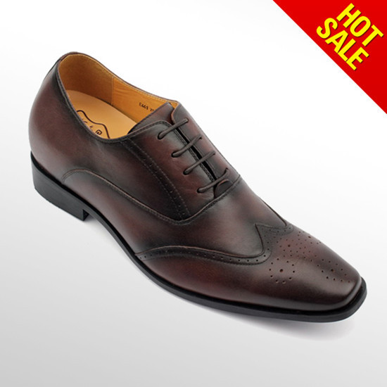 Italy Design Custome Genuine Leather Mens Formal Oxford Shoes