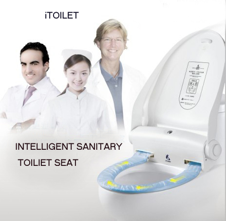 Itoilet Hands Free Automatic Change The Sanitary Film Toilet Seat Cover