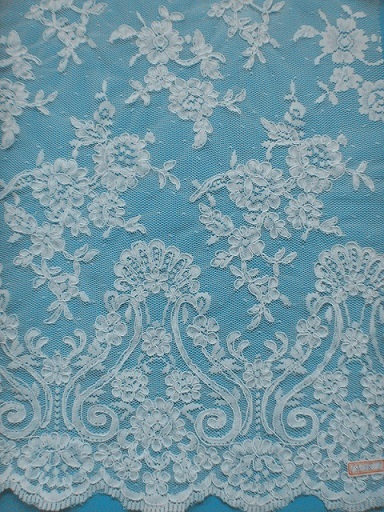 Ivory Guipure Cord Lace Fabric