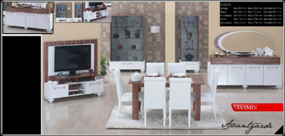 Jasmin Dining Room Furniture Sets