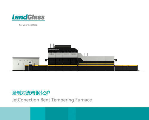 Jetconvetion Single Curvature Tempered Glass Oven