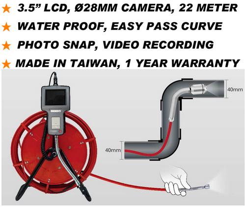 Jg Series Pipe Inspection Video Borescope