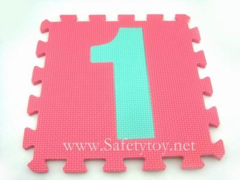 Jigsaw Puzzle Mats Floor Kids Intelligence Toy Number