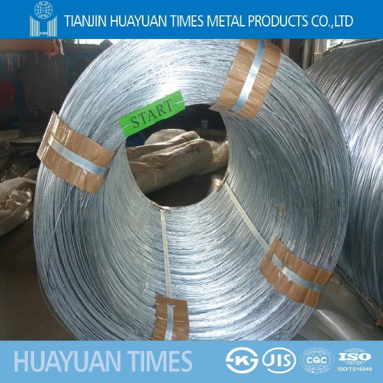 Jis G 3547 Galvanized Iron Wire 5 0mm