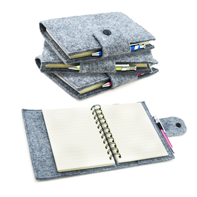 Jno1011 Recycle Felt Spiral Notebook