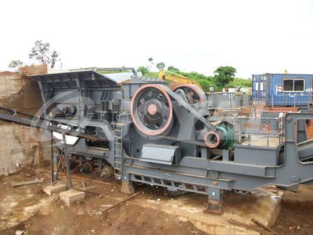 Joyal Concasseur B Ton Mobile Nettoyer La Voie Des Obstacles De Constructio