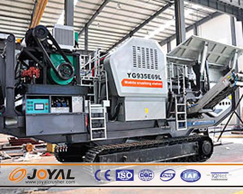 Joyal Crawler Mobile Crusher Impact
