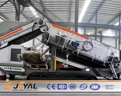 Joyal Crawler Mobile Crusher Jaw