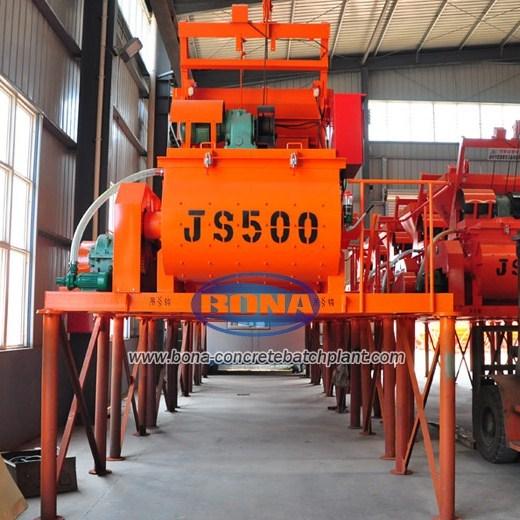 Js500 Concrete Mixers