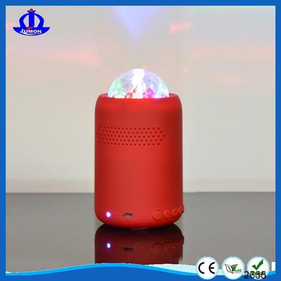 Jumon Fcc Bqb Mini Party Bluetooth Speaker With Disco Light