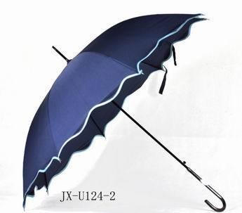Jx U124 Auto Open Straight Umbrella