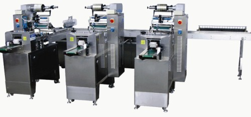 Jy 350 Hsiii Multi Function 3 Stage Ice Cream Bar Automatic Packing Machine