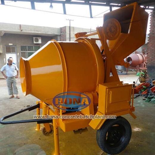 Jzr350 Diesel Engine Concrete Mixer
