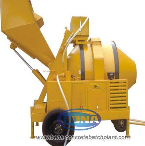 Jzr500 Diesel Engine Concrete Mixer