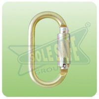 Karam Quarter Turn Locking Steel Karabiner