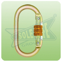 Karam Steel Screw Locking Karabiner