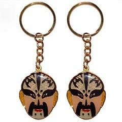 Keychain With Peking Opera Facial Makeup
