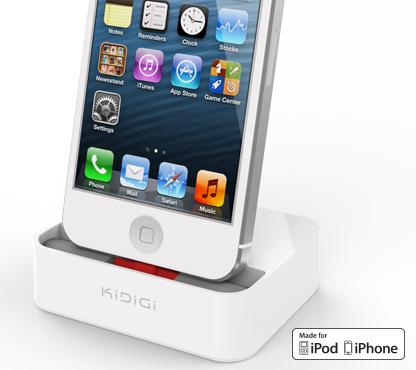 Kidigi Desktop Charging Cradle Case Compatible Sync Charge Dock For Iphone