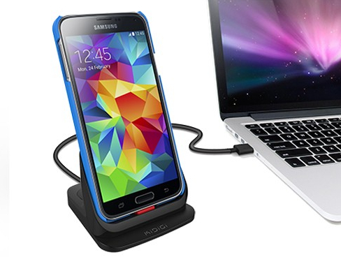 Kidigi Mobile Cellular Samsung Galaxy S5 Ultrathin Desktop Dual Charging Do