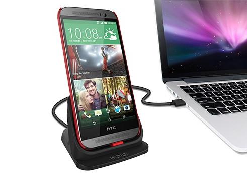 Kidigi Mobile Phone Cellular Ultrathin Desktop Charging Dock For Htc One M8