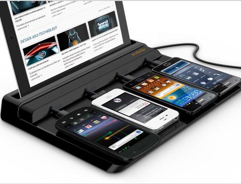 Kidigi Universal Charging Station For Smartphones Tablets