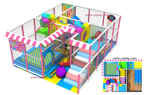 Kids Indoor Soft Play Field