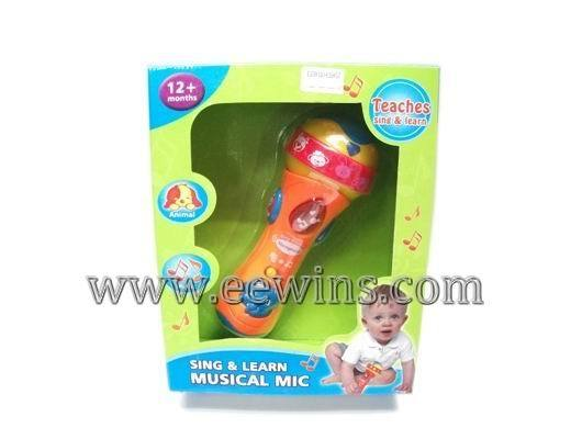 Kids Toys Microphone With Music Eew110419457