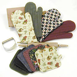 Kitchen Towels And Oven Gloves