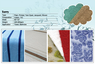 Knitted Fabrics Garments Terry