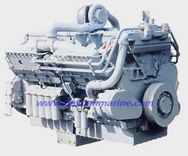 Kta50 1600hp Marine Cummins Engine
