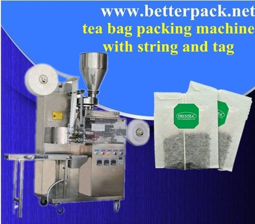Label Tea Bags Packing Machine Packaging