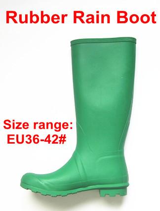 Ladies Fashion Rubber Rain Boots