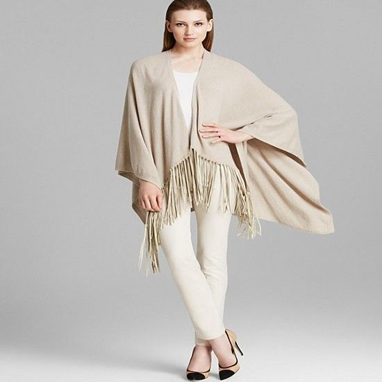 Laies Knitted 100 Cashmere Shawl