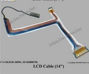 Laptop Lcd Cable For Dell D630 D620 High Resolution