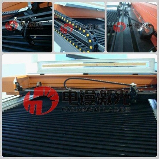 Large Format Co2 Cnc Engraving Cutting Machine Dm 1325