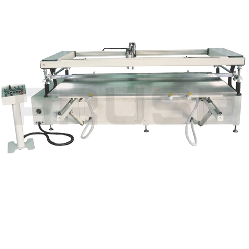 Large Format Sliding Table Screen Printing Machine