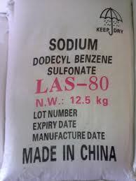 Las Sodium Linear Alkylbenzene Sulphonate