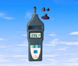 Laser Contact Surface Speed Tachometer Dt 2858