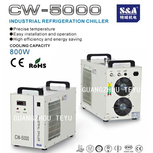 Laser Water Chiller For Co2 Glass Tube Lasers