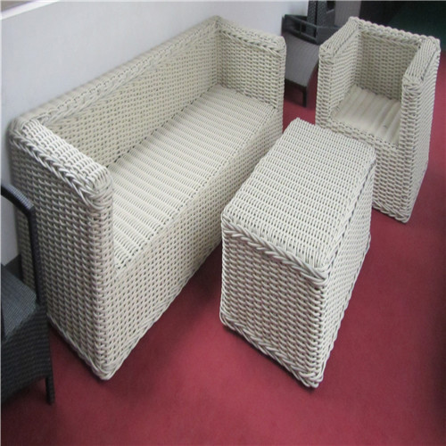 Lastest Right Angle Designed Rattan Sofa Set