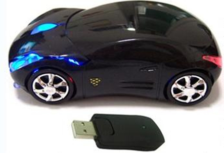 Latest Wireless Car Shaped Mouse 2 4g Optical